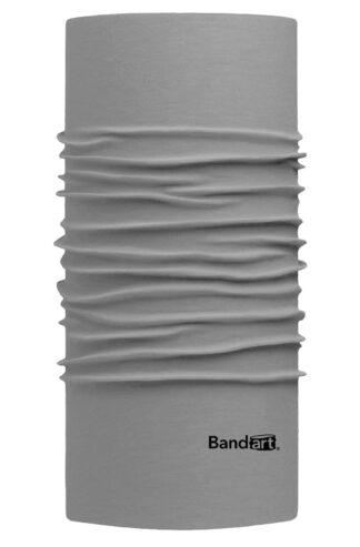 Gris Claro Fresh - Banda Multifuncional Máscara Face Shield tipo Buff - Diseño Bandart Original, Empresa Mexicana