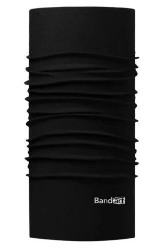 Negro Fresh - Banda Multifuncional Máscara Face Shield tipo Buff - Diseño Bandart Original, Empresa Mexicana