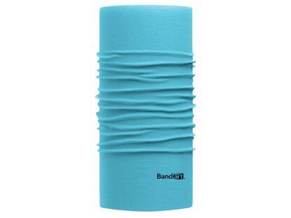 Azul Cielo Fresh - Banda Multifuncional Máscara Face Shield tipo Buff - Diseño Bandart Original, Empresa Mexicana