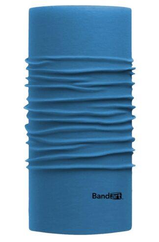 Azul Azur Fresh - Banda Multifuncional Máscara Face Shield tipo Buff - Diseño Bandart Original, Empresa Mexicana