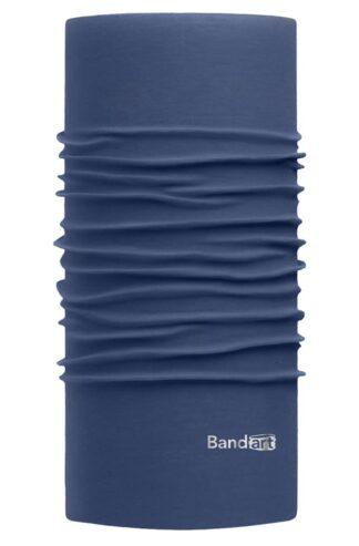 Azul Egeo Fresh - Banda Multifuncional Máscara Face Shield tipo Buff - Diseño Bandart Original, Empresa Mexicana