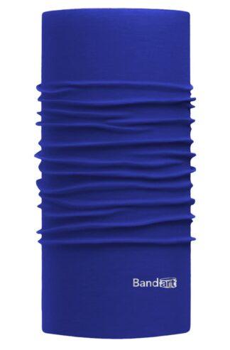 Azul Rey Fresh - Banda Multifuncional Máscara Face Shield tipo Buff - Diseño Bandart Original, Empresa Mexicana