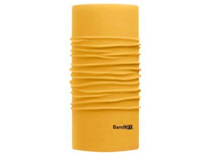 Amarillo Pooh Fresh - Banda Multifuncional Máscara Face Shield tipo Buff - Diseño Bandart Original, Empresa Mexicana