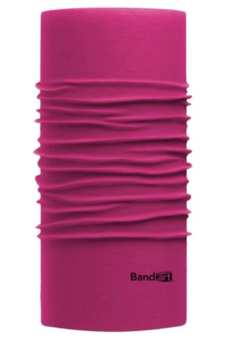 Rosa Red Fresh - Banda Multifuncional Máscara Face Shield tipo Buff - Diseño Bandart Original, Empresa Mexicana