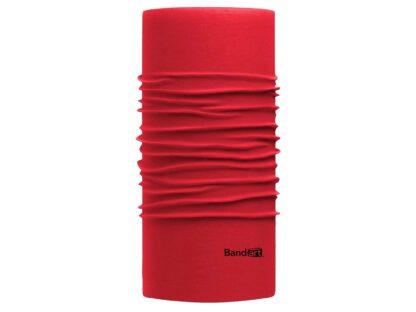 Rojo Fresh - Banda Multifuncional Máscara Face Shield tipo Buff - Diseño Bandart Original, Empresa Mexicana