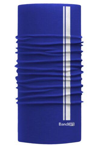 Azul Rey Reflective - Banda Multifuncional Máscara Face Shield tipo Buff - Diseño Bandart Original, Empresa Mexicana