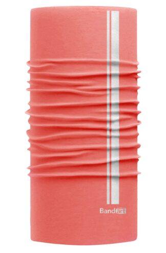 Salmon Reflective - Banda Multifuncional Máscara Face Shield tipo Buff - Diseño Bandart Original, Empresa Mexicana
