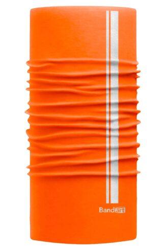 Naranja Neón Reflective - Banda Multifuncional Máscara Face Shield tipo Buff - Diseño Bandart Original, Empresa Mexicana